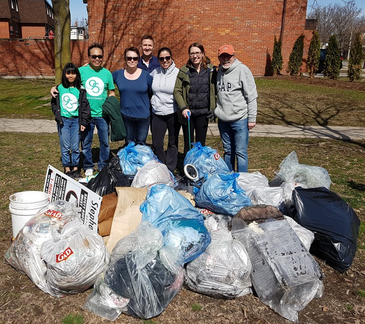 PRCA Community Clean Up 2018 Volunteers