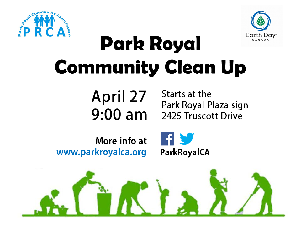 Park Royal Community Clean-up 2019 Poster