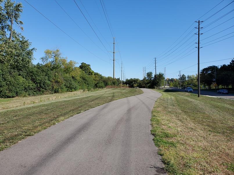 Nine Creeks Trail along Bromsgrove Road